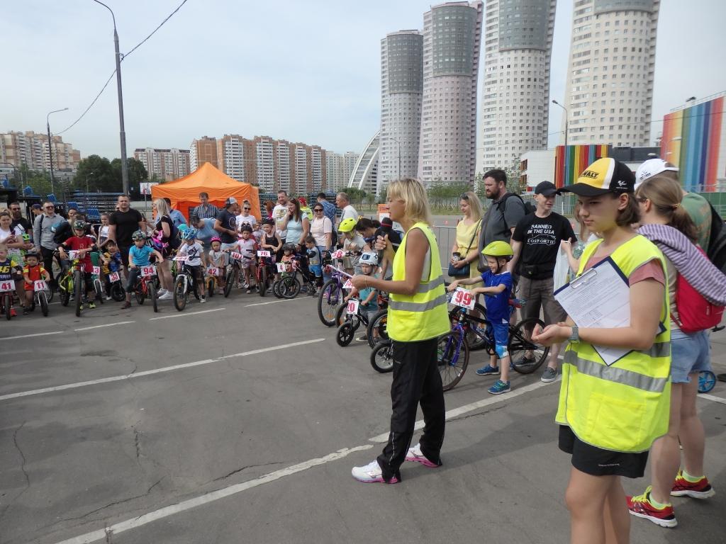 Соревнования по беговелу и велоспорту
