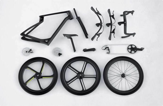 Карбоновый велосипед, произведенный по технологии 3D-печати