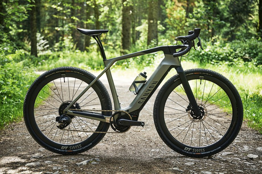Canyon Grail:ON. Электрический грэвел от Canyon Cycles